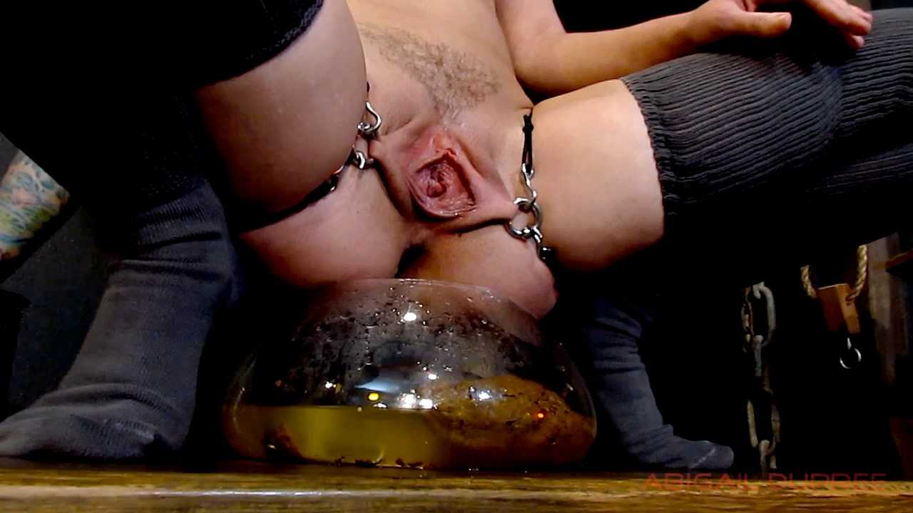 EFRO Bondage Piss Drinking Shit with Enema - Abigail Dupree | HD 720p | June 22, 2017